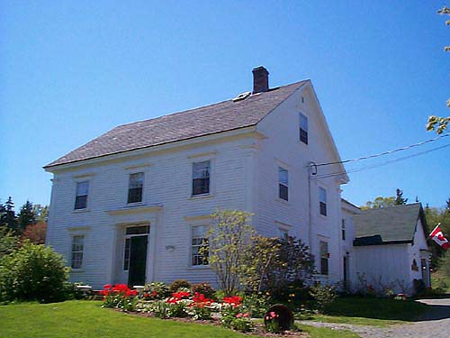 Peck Colonial Bed & Breakfast, Bay of Fundy